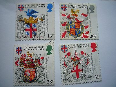 College of Arms Quincentenary, fine used set from 1984
