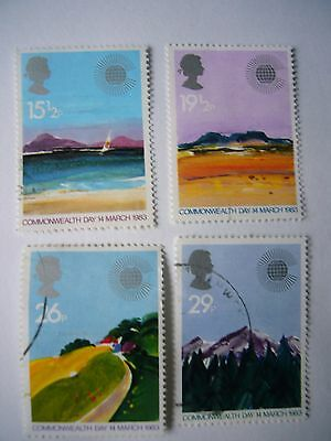 Commonwealth Day fine used set from 1983