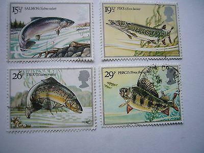 British River Fish fine used set from 1983