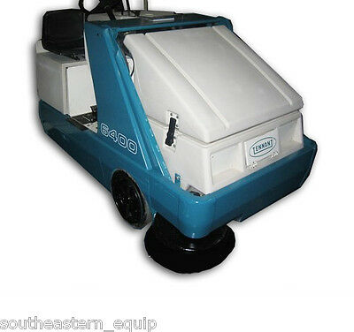 Reconditioned Tennant 6400 Battery Ride-On Sweeper
