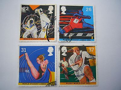 World Student Games,Sheffield fine used set from 1991
