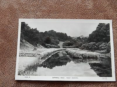 Frith Real Photo postcard - Lathkill Dale -Over Haddon Nr Bakewell Derbyshire