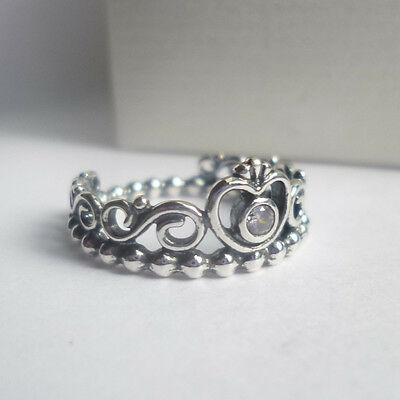 Pandora  Tiara Ring - size options - genuine sterling silver ex condition!