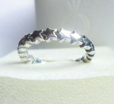 Pandora Stars Ring - size options - genuine sterling silver ex condition!