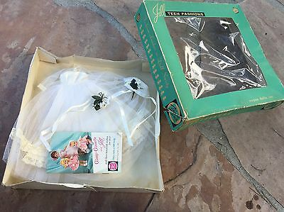Vogue Ginny Jill Doll Wedding Bride Outfit In Box 1959's