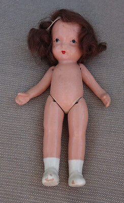 Nancy Ann Storybook Doll Molded Sock Pudgy Bisque