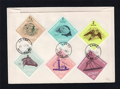 Lundy: 1962 Anti-Malaria First Day Cover