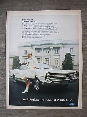 Automobile Advertisement 1967 Ford