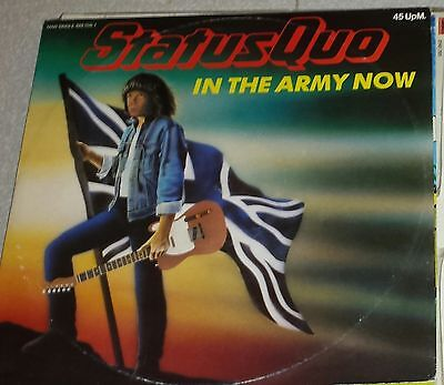 """Status Quo - In The Army Now (Discomix 12"""") Ascolta / Hear"""