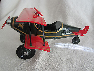 "Hallmark Kiddie Car Classics..1930..""custom Biplane""..custom Collection..nib."