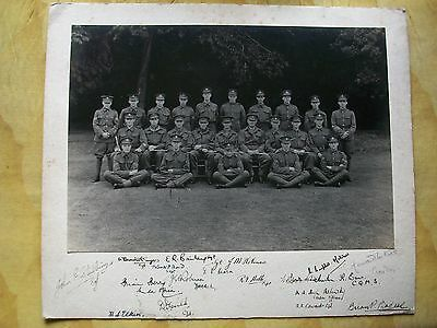 C1935 Signed Military - Army Photograph: West Surrey, (Queens Regiment)