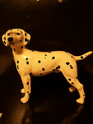 "Quality  China Dog By "" Melba ""  Dalmatian    1950's"