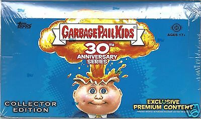Garbage Pail Kids Topps 30Th Anniversary Limited Sealed Collectors Edition Box