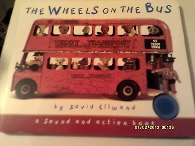 Wheels on the Bus Book with Sounds