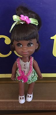 Liddle Kiddle Rolly Twiddle Black African American Doll All Original