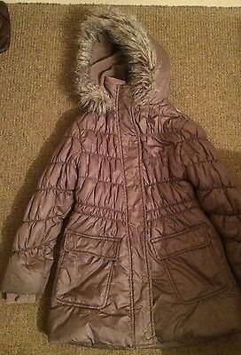 Brown Warm Winter Padded Coat From Next  7-8