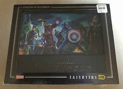 New Marvel Avengers Blu-ray 3D+2D/DVD Bestbuy Exclusive Collector's Edition OOP