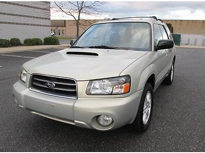 2005 Subaru Forester XT Wagon 4-Door 2005 Subaru Forester XT Turbo AWD 1 Owner Dealer Serviced Rare Find Super Clean