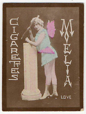 Cigarettes Melia Alger Algeria Cigarette Tobacco Card - Tirage L - Love