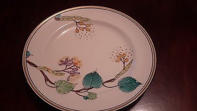 """SUSIE COOPER very rare pattern 1928 similar to Golden Catkin 10 """" dinner plate"""