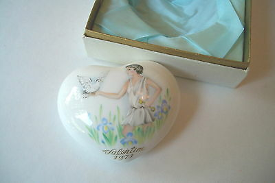 Noritake 1973 First Edition Valentine's Day Heart With Box