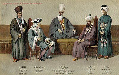 Constantinople,Turkey,Coillection of Ambassador's Costumes,c.1909