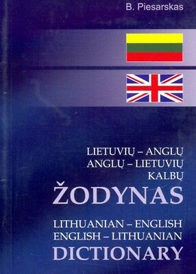 Lithuanian-English and English-Lithuanian Dictionary: 25,000 Words and Phrases .