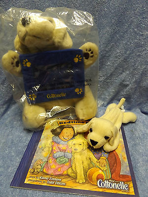 New Cottonelle Yellow Lab Labrador Retriever Puppy Picture Frame, Bedtime Book +