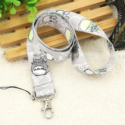 Totoro 4color Durable Neck Chain Strap ID Card Camera Anime Keychain Lanyard