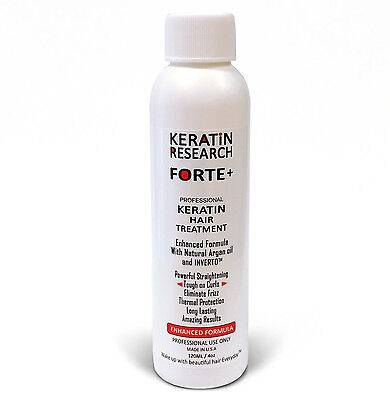 Keratin FORTE Extra Strength Brazilian Blowout Treatment 120ml with Argan oil US