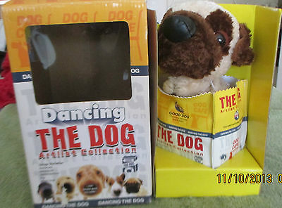 The Dog Cafe The Dog Dancing Artist Collection Plush in Box Pug