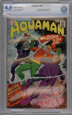 Aquaman #35 - CBCS Graded 4.5 - 1st Black Manta