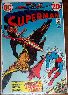 SUPERMAN #260 (FN) Valdemar of the Flame! 1973 DC LQQK