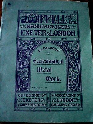 Vintage Rare 1920s CATALOGUE OF ECCLESIASTICAL METAL WORK - WIPPELL & CO  crafts