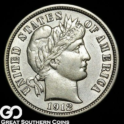 1912-S Barber Dime ** Free Shipping!