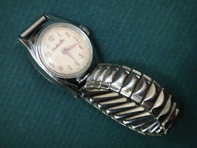 vintage DISNEY'S CINDERELLA WATCH w/BAND child girl
