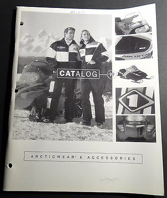 1999 Arctic Cat Snowmobile Clothing & Accessories Sales Brochure Catalog (608)