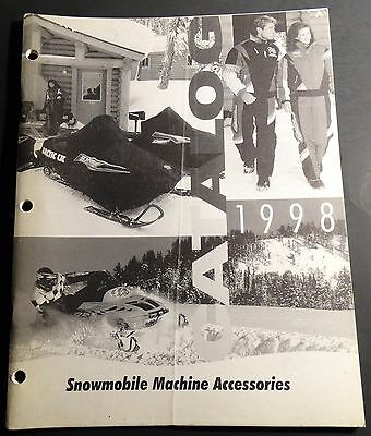 1998 Arctic Cat Snowmobile Accessories Catalog Brochure 72 Pages  (610)
