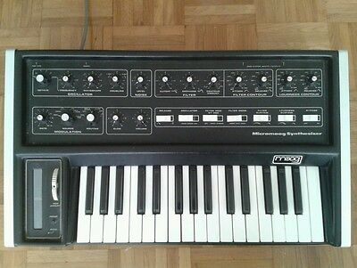 Moog Micromoog Analog Synthesizer 1975