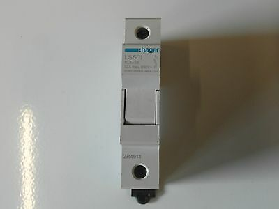 Hager  Ls501 Hrc Fuse Holder 10.3X38 1P 1 Module