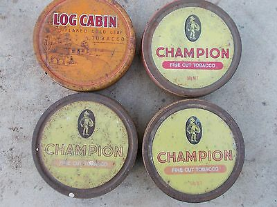 collectable old tin , tobacco tins