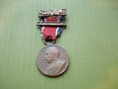1915 - Ww1, George V Medal: Good Conduct + Attendance Etc. L.c.c. + W. Griggs
