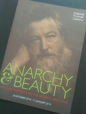 ~ ANARCHY & BEAUTY ~ William Morris      NPG  Exhibition Flyer