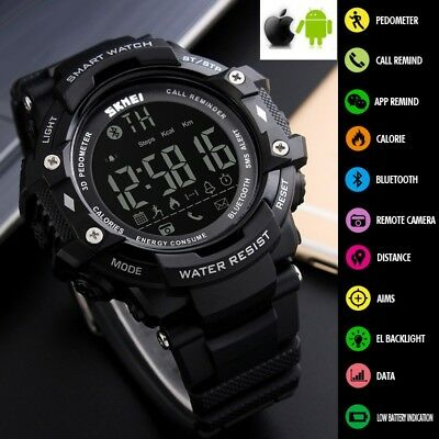 New Hot Waterproof Smart Watch Phone Mate For Android IOS iPhone Samsung