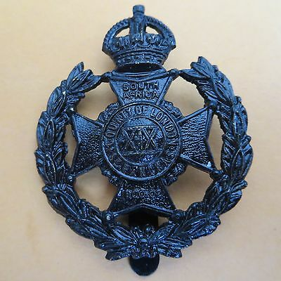 The 19th County of London Battalion (St Pancras) Army/Military Hat/Cap Badge