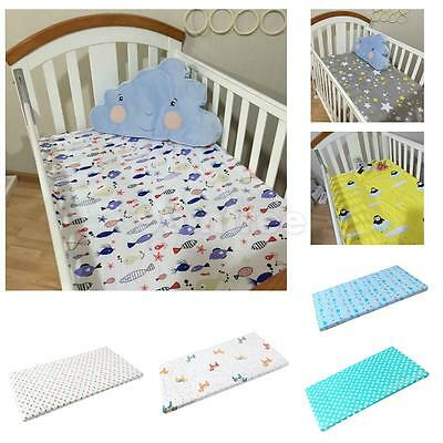 Baby fitted sheet for Pram/Moses Basket/Crib/Cot/Cot Bed Cotton Mattress Cover