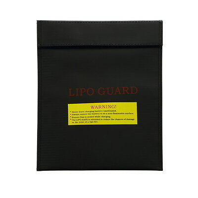 RC LiPo Battery Guard Charging Explosion Protection Bags Safe Fire Proof 30*23cm