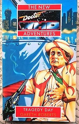Dr Who book Tragedy Day Virgin New Adventures 7th Doctor Gareth Roberts