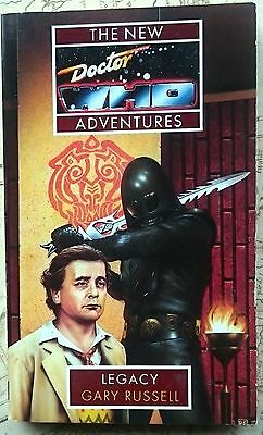 Dr Who book Legacy Virgin New Adventures 7th Doctor Gary Russell Ice Warriors