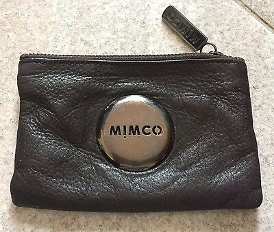 MIMCO Brown Leather Coin Purse